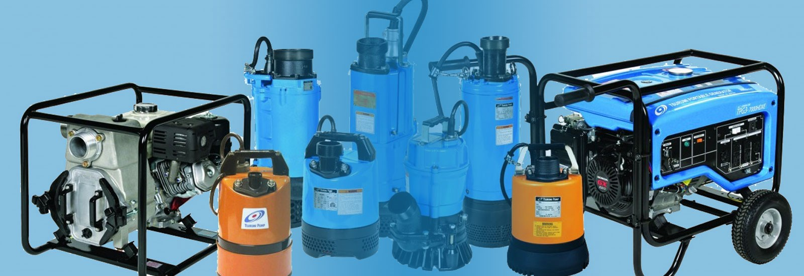 Tsurumi - Electric Submersible Water Pumps