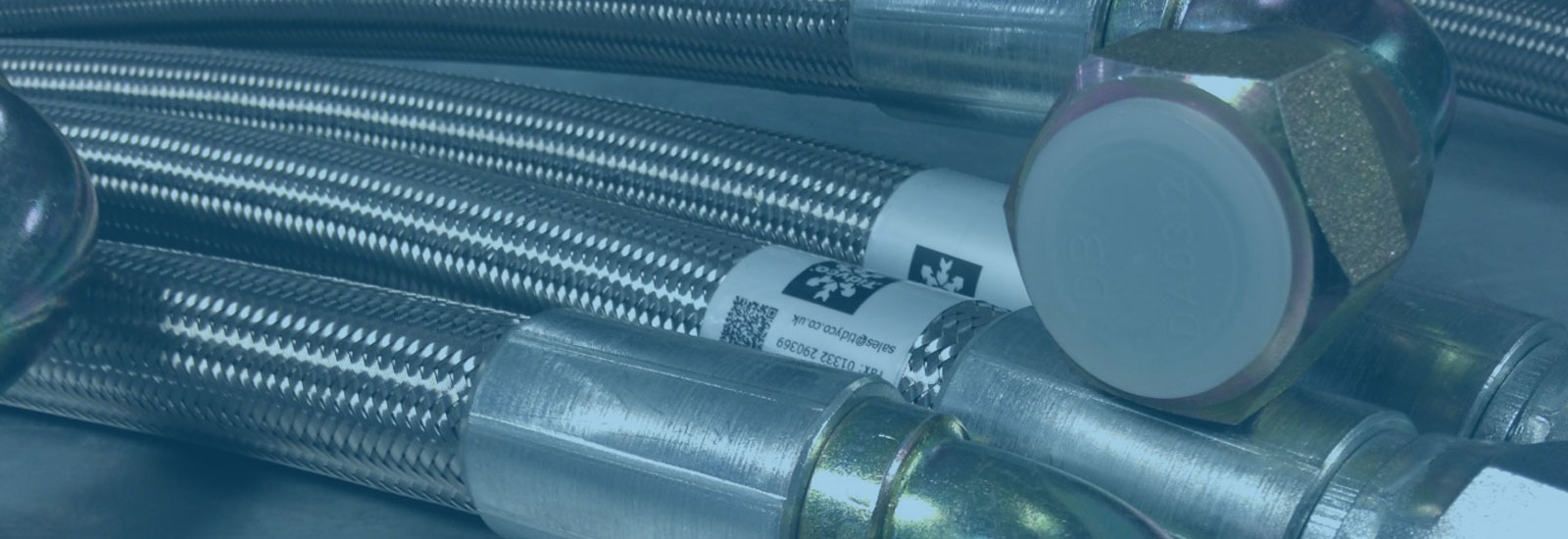 Stainless Steel Braided Hose Assemblies (PTFE) | Tidyco