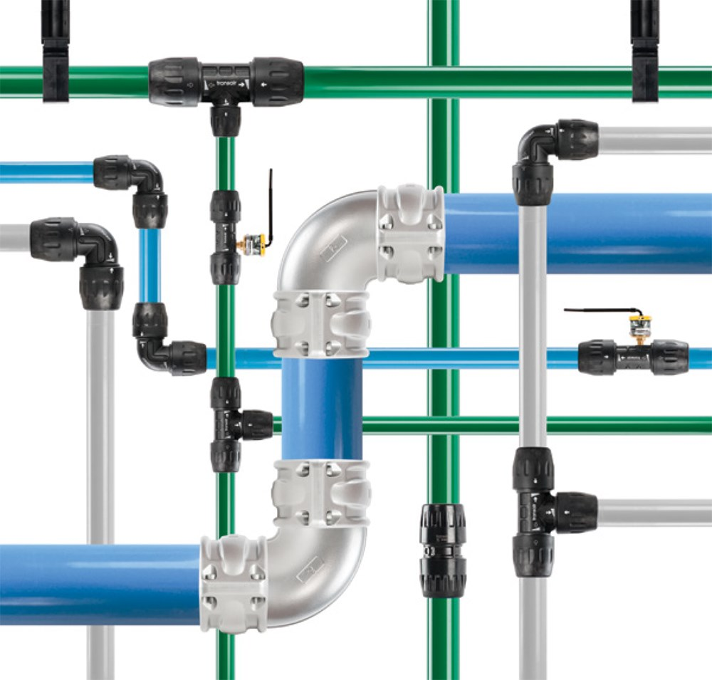 Tidyco becomes official distributor of Parker Transair Compressed Air Pipework
