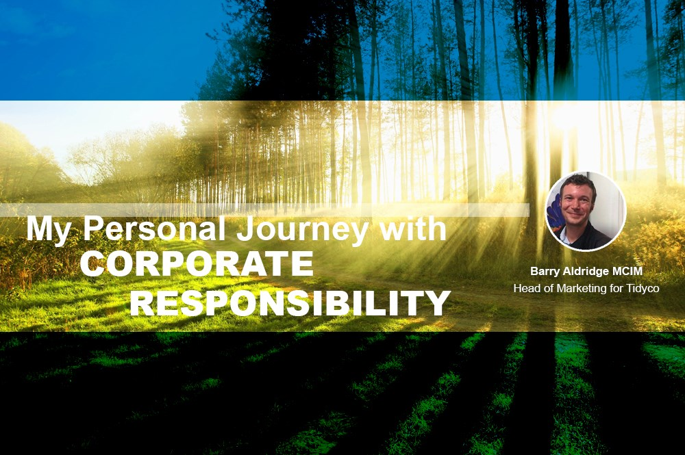 My Personal Journey with Corporate Responsibility