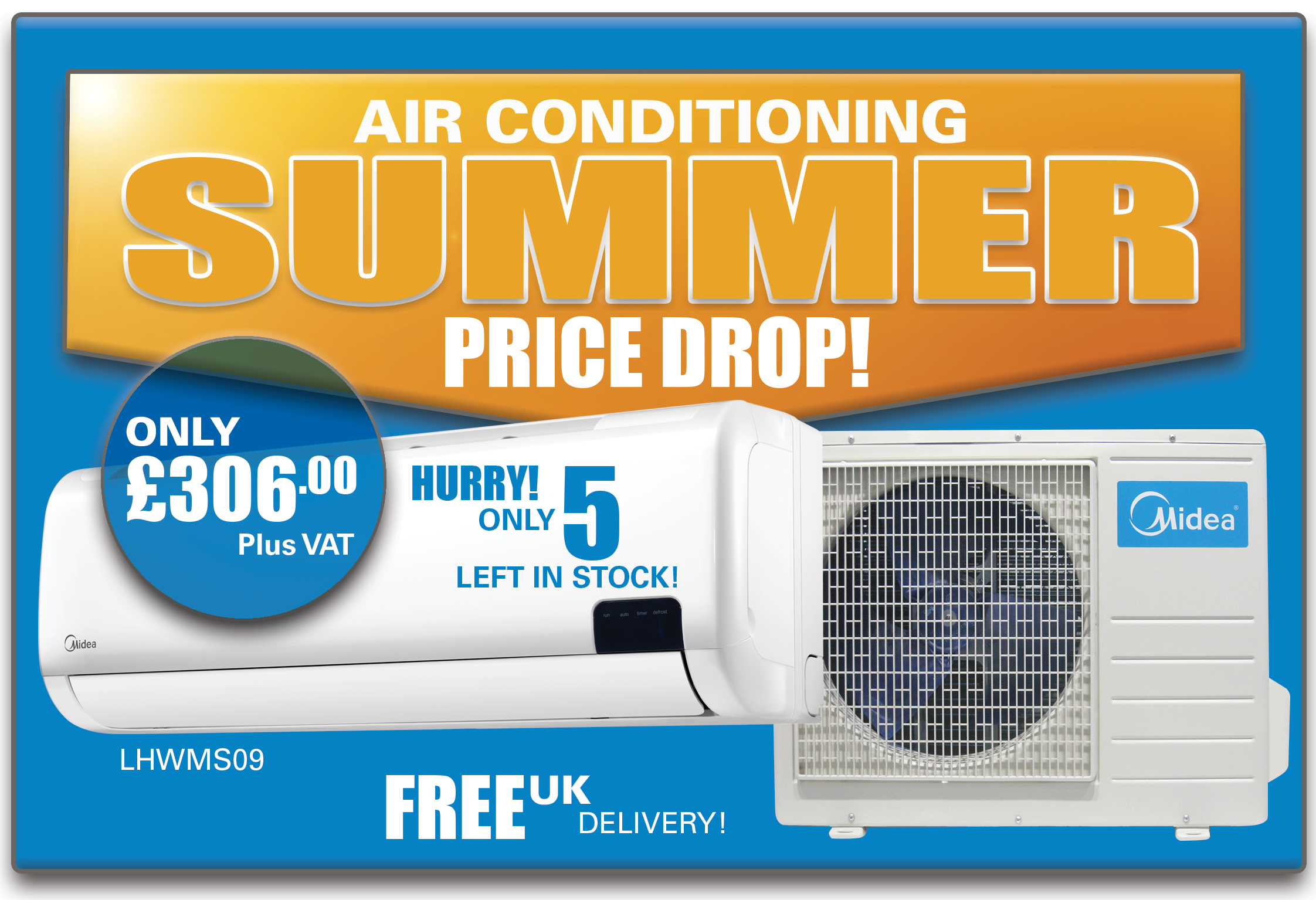 Air Condonitioning Summer Price Drop
