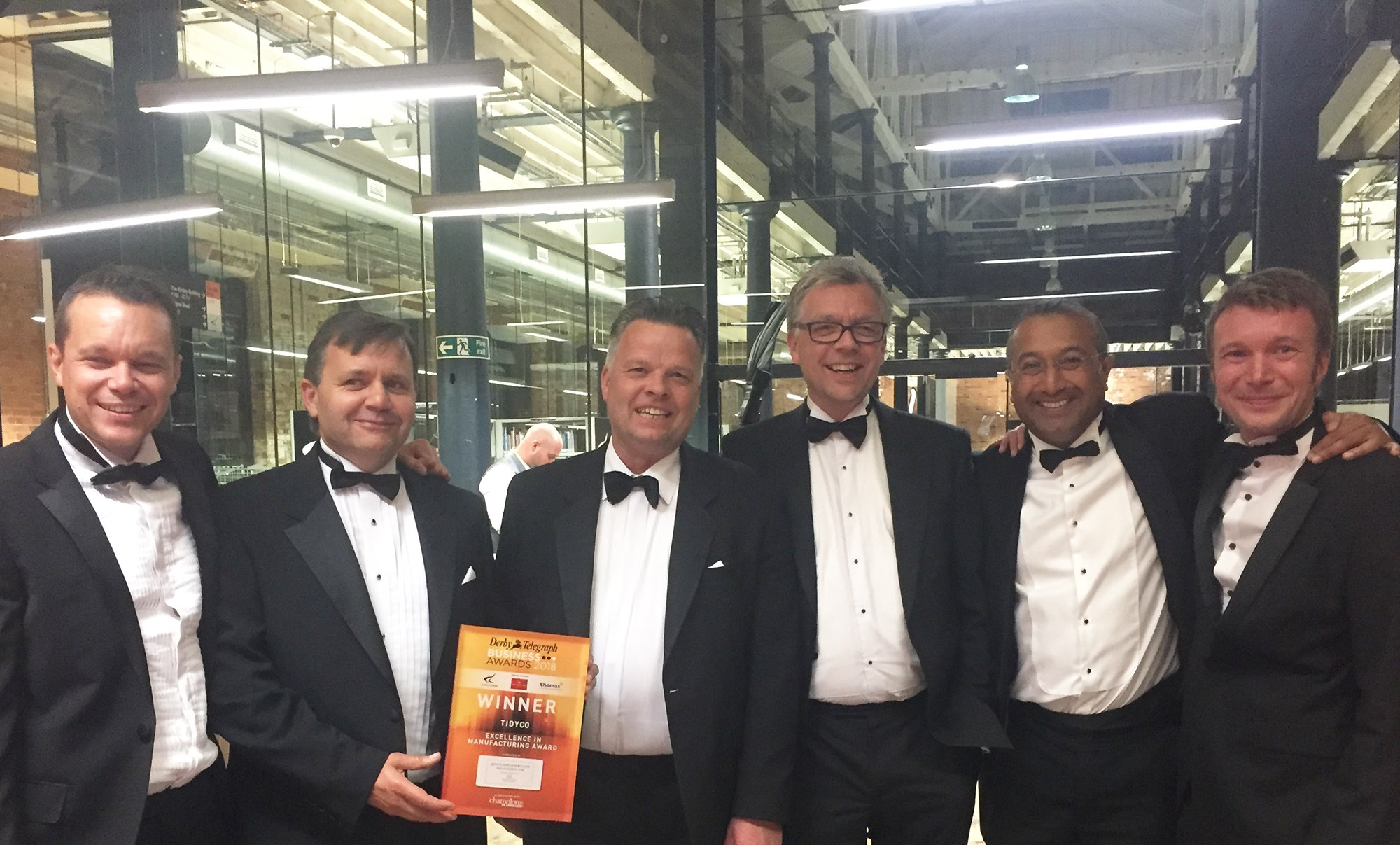 Tidyco scoops a significant award