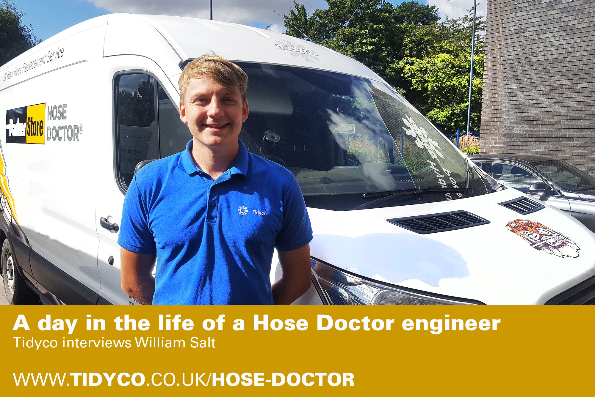 A day in the life of a Hose Docter Engineer - William Salt