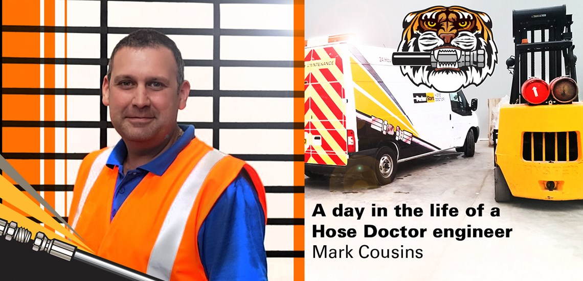 A day in the life of a Hose Doctor engineer - Mark Cousins