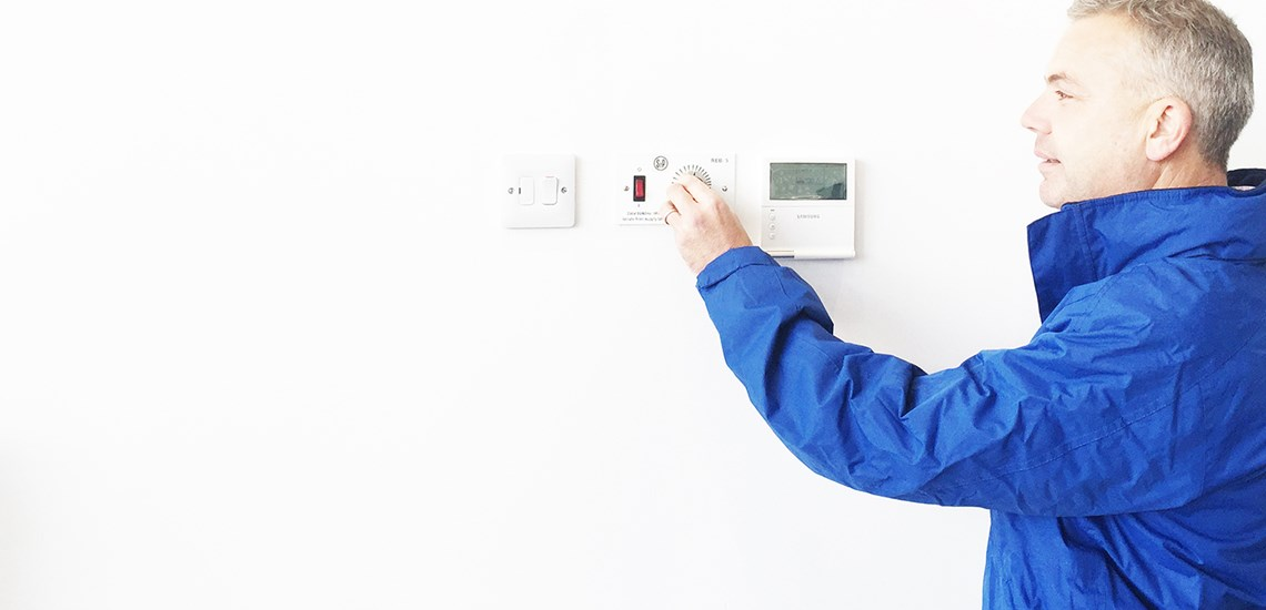 Tidyco is an approved Samsung Climate Solutions Installer