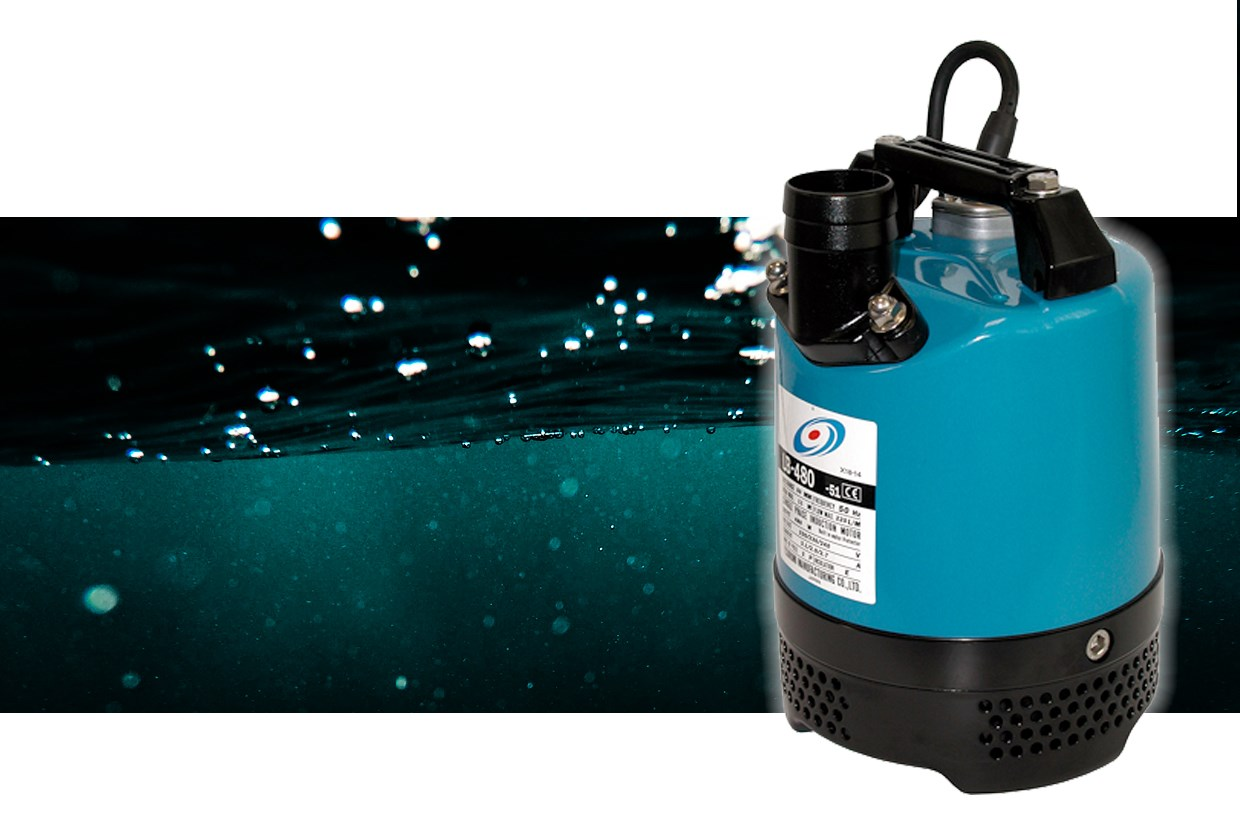 Featured Product The Tsurumi LB48210 230 Volt Submersible Water Pump