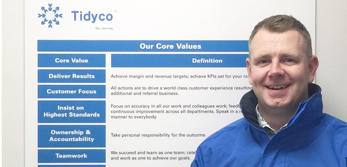 Newly appointed Marketing Manager joins Tidyco