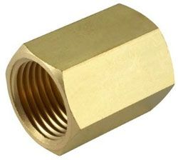 Female Equal Brass Socket